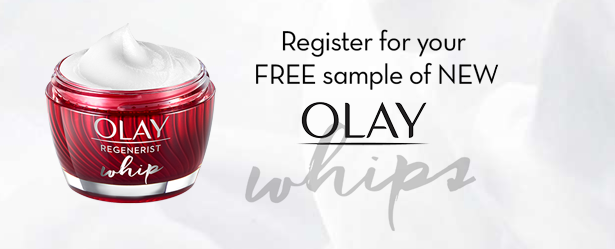 Olay whips new product free sample