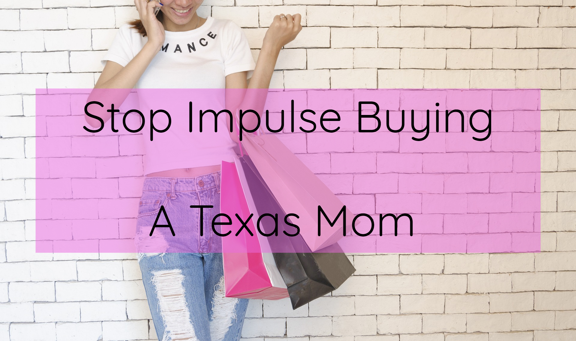 Stop impulse buying!! We can't #savemoney if we're always purchasing goods on a whim!