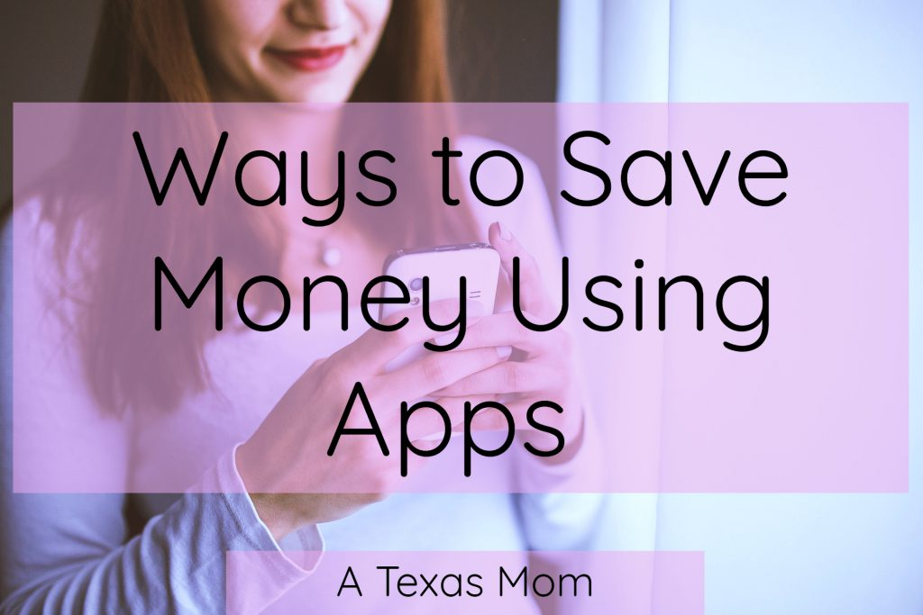 Ways I save money using apps