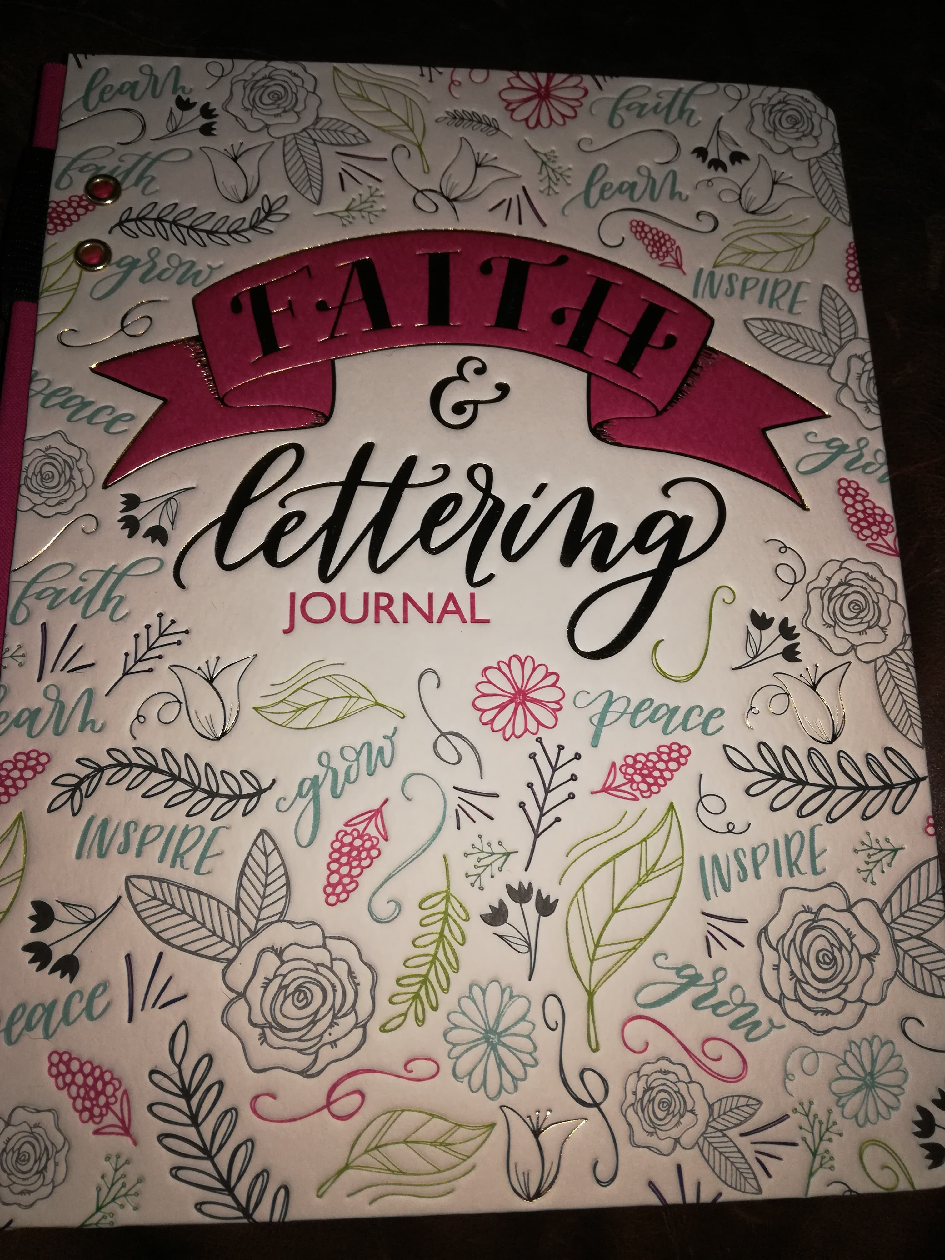 Faith & Lettering Journal by Ellie Claire